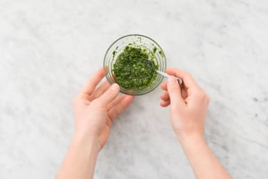 Make Herb Salsa