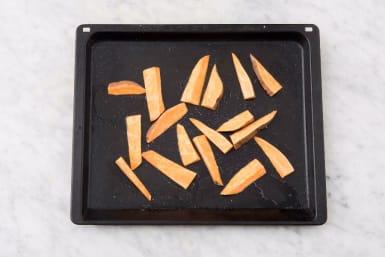 Toss Sweet Potatoes