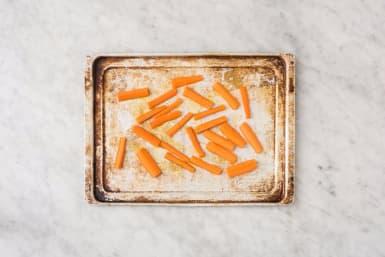 Prep and Roast Carrots