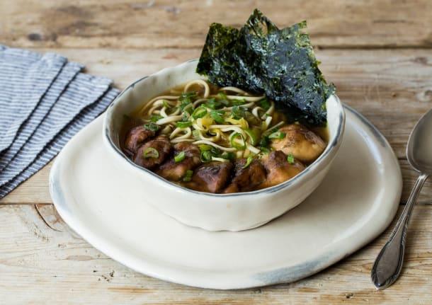 Shiitake Mushroom Ramen