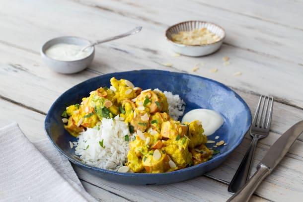 Indisches Ofengemüse-Curry