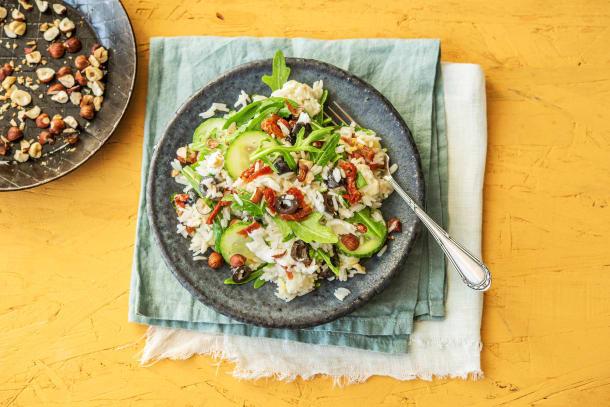 Mediterraner Reis-Salat