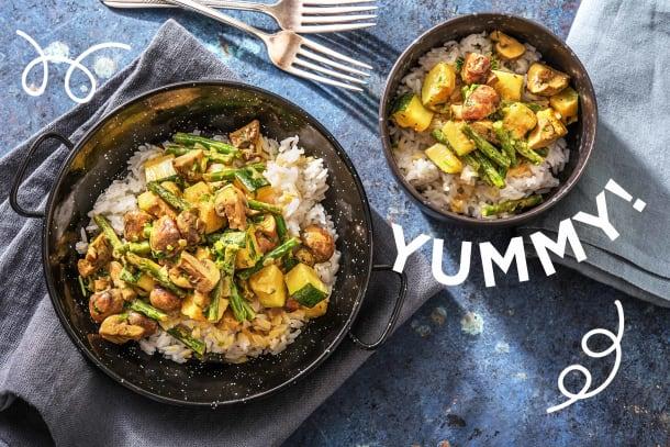 Hello Massaman! Cremiges Thai-Curry