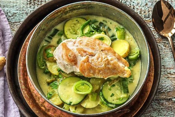 Schnelle Gerichte - Cremiger Poulet-Kartoffel-Eintopf