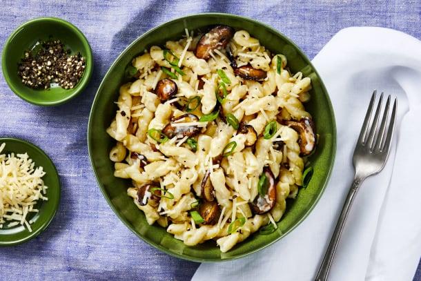 Quick meals - Creamy Dreamy Mushroom Gemelli