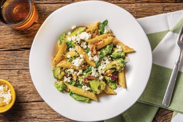 Quick Dinner Ideas - Bacon, Lemon & Pesto Penne