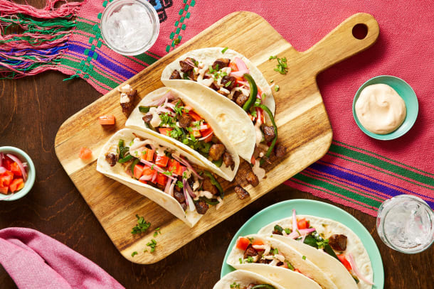 Quick meals - Sirloin Carne Asada Tacos