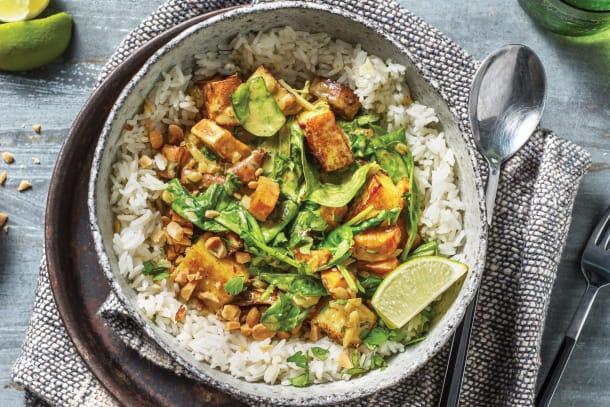 Vegetarian Recipes - Pumpkin, Coconut & Paneer Curry