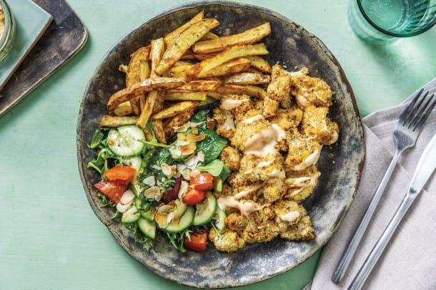 Quick Meals - Smokey Parmesan-Crumbed Cauliflower