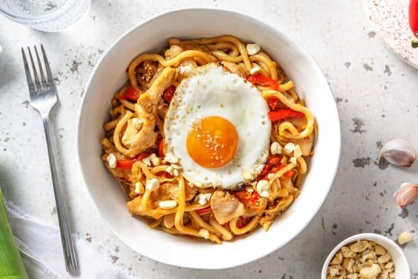 Snelle recepten - Snelle wokschotel met gekruide kipfiletreepjes