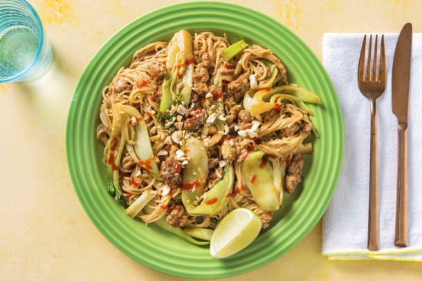 Schnelle Gerichte - Asiatische Somen-Nudeln