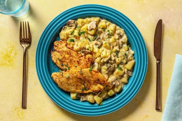 Schnelle Gerichte - Gebratene Hähnchenbrust