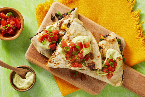 Hall Of Fame - Black Bean Quesadillas