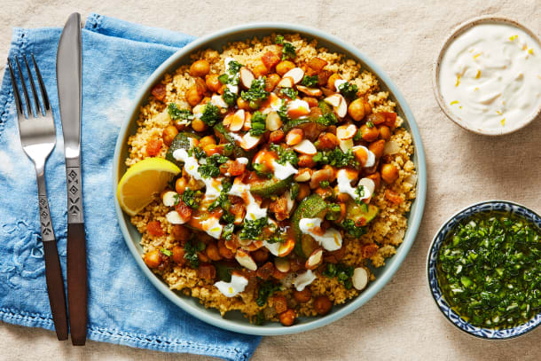 Hall Of Fame - Zucchini & Chickpea Tagine