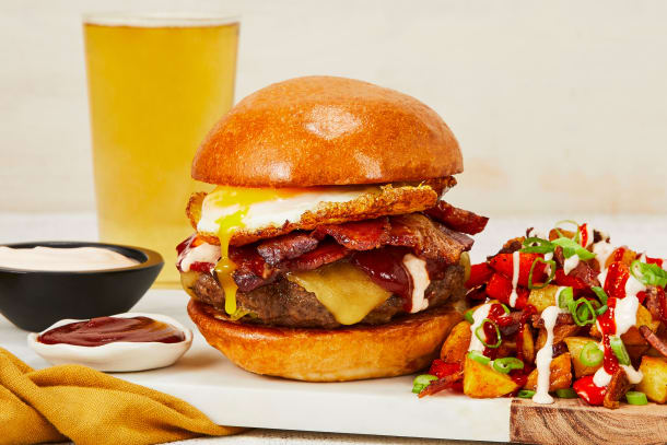 Sunny-Side-Up Burgers