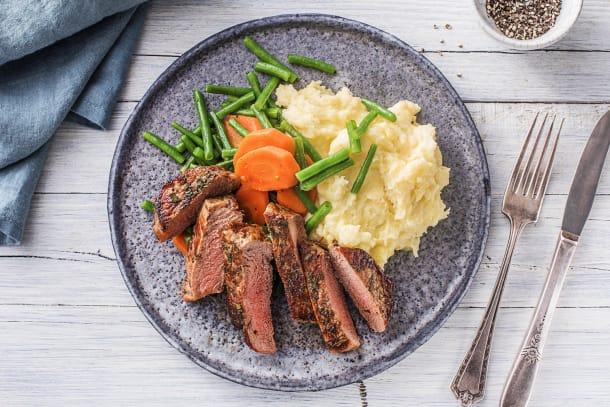 Gesunde Gerichte - Saftiges Hüftsteak
