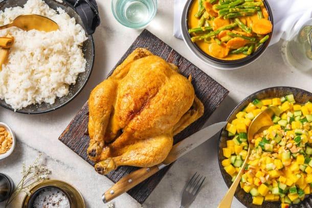 Thai-Curry-Brathähnchen