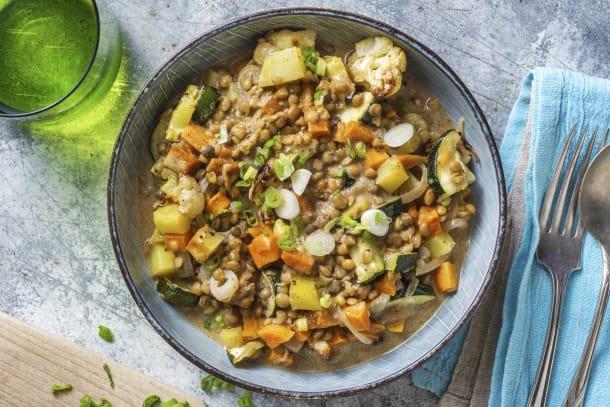 Schnelle Gerichte - Vegetarisches Massaman-Curry