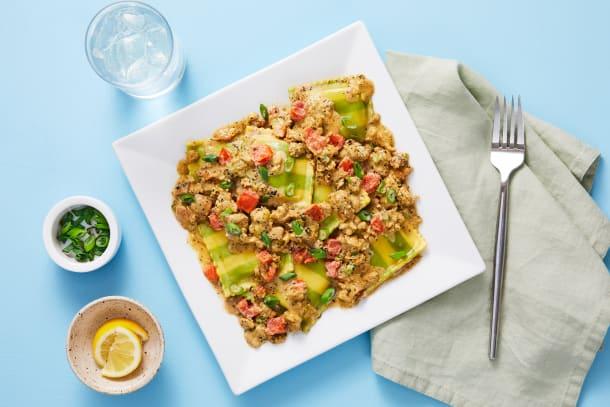 Chicken Sausage & Spinach Ravioli