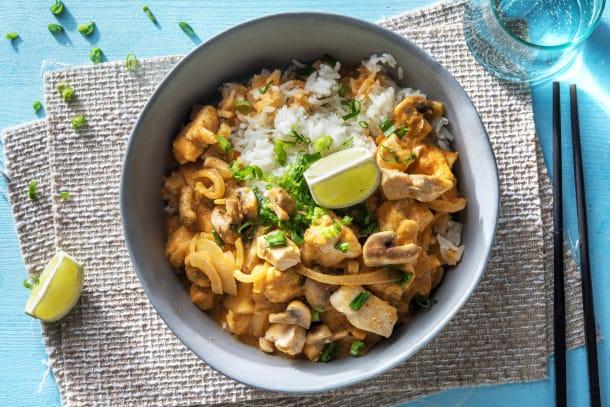 Thailändisches Kokos-Limetten-Curry