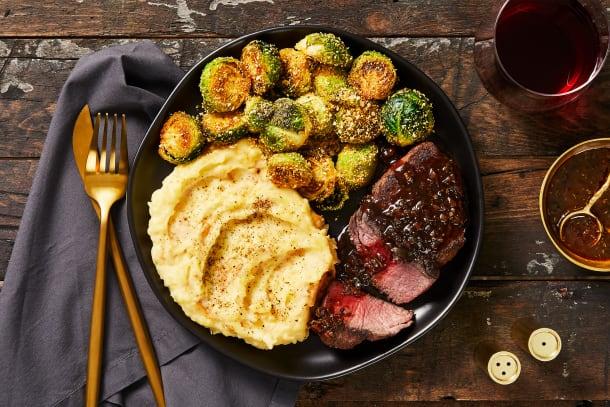 Balsamic & Fig Beef Tenderloin