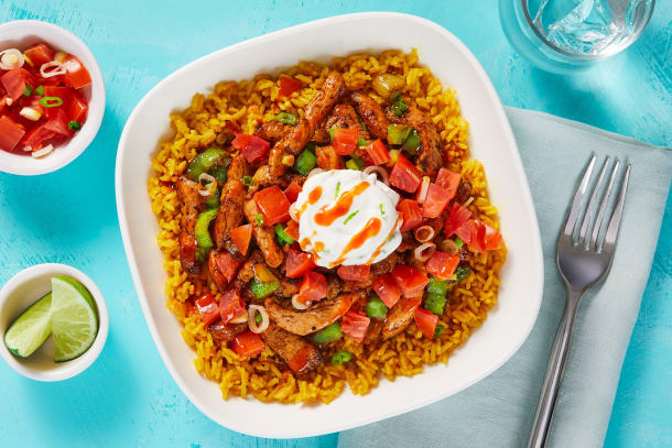 Mexican Chicken & Rice Bowls