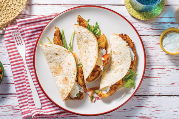 Quick Dinner Ideas - American Fish Tacos
