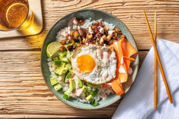 Familjefavoriter - Asian Style Poke Bowl