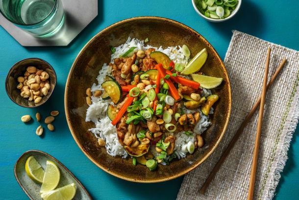 Hälsosamma Recept - Asiatisk kyckling