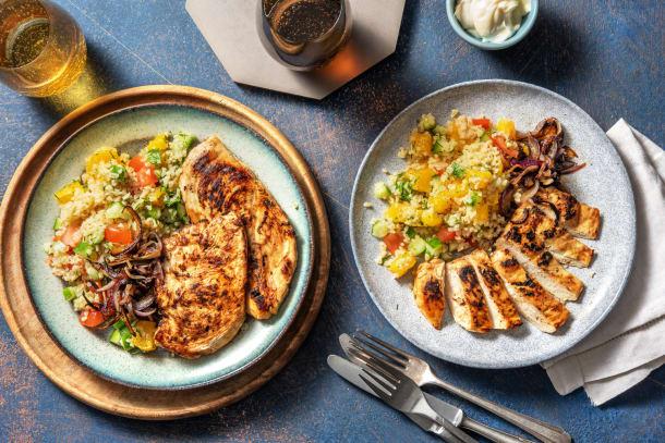 Hälsosamma Recept - BBQ-marinerad kyckling