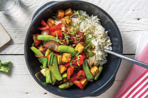 Black Pepper Tofu & Veggies