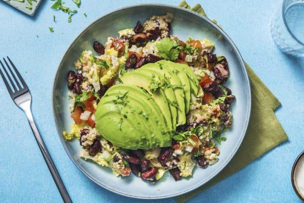 Gesunde Gerichte - Burrito-Bowl! Tomaten-Quinoa