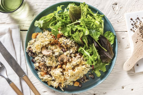 Kalorisnåla måltider - Butternut- och salviagratäng