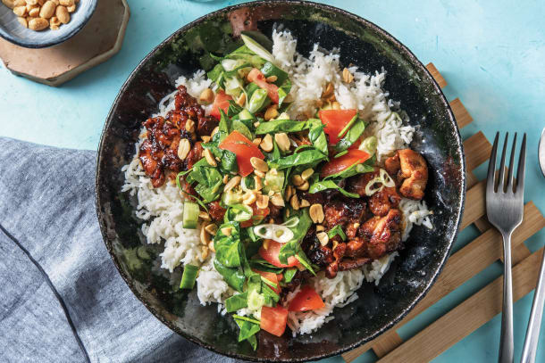 Caramelised Chicken & Coconut Rice
