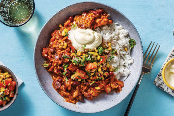 Quick Dinner Ideas - Caribbean Bean Bowl