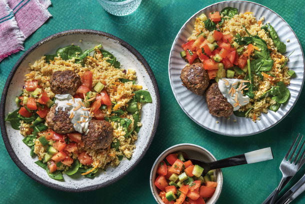Quick Meals - Chermoula Beef Meatballs