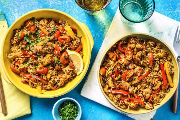 Chicken & Chorizo Rice
