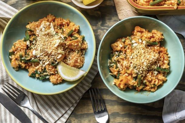 Chicken & Red Pesto Risotto