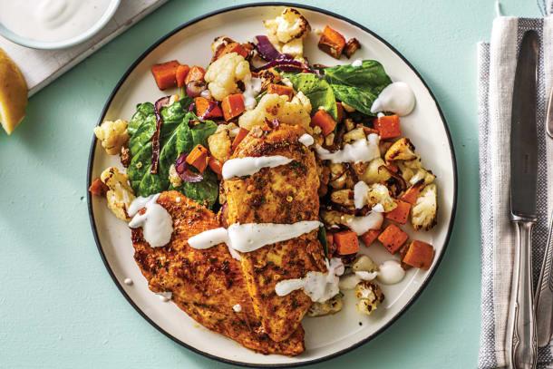 Casablanca Chicken & Roast Veggie Medley