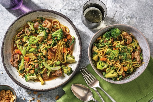 Quick Dinner Ideas - Chinese Beef & Ginger Noodles