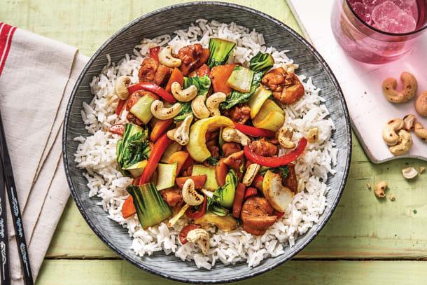 Chinese Five Spice Chicken Stir-Fry