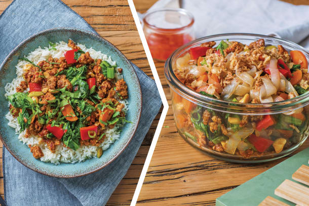 Sichuan Pork Rice Bowl for Dinner