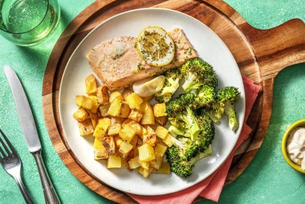 Hälsosamma Recept - Citronlax
