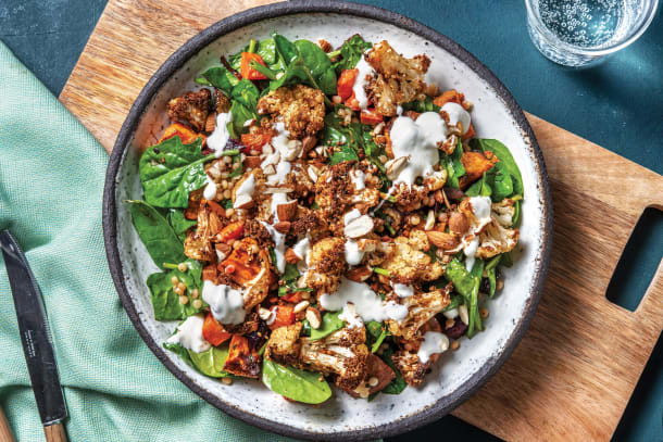 Quick Meals - Dukkah Cauliflower & Pearl Couscous Salad