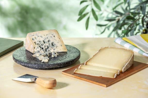 Duo de fromages : Ossau-Iraty (180g) | Bleu d'Auvergne (180g)