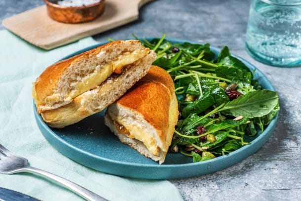 Fig and Brie Cheese Melt