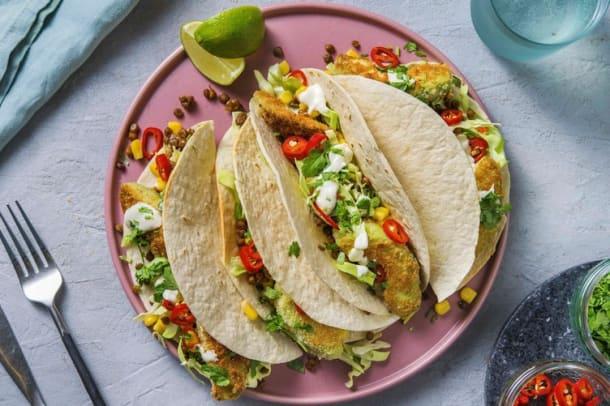 Snabba Middagstips - Gröna tacos