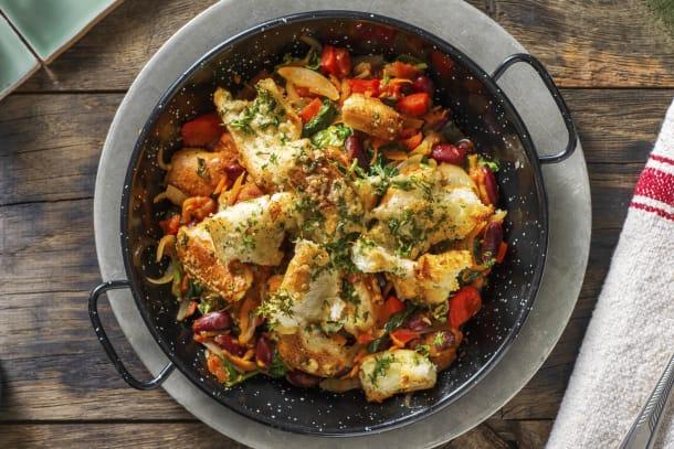 Kalorisnåla måltider - Bakade bönor Italian Style