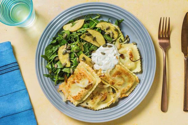 Schnelle Gerichte - Klassische Maultaschenpfanne
