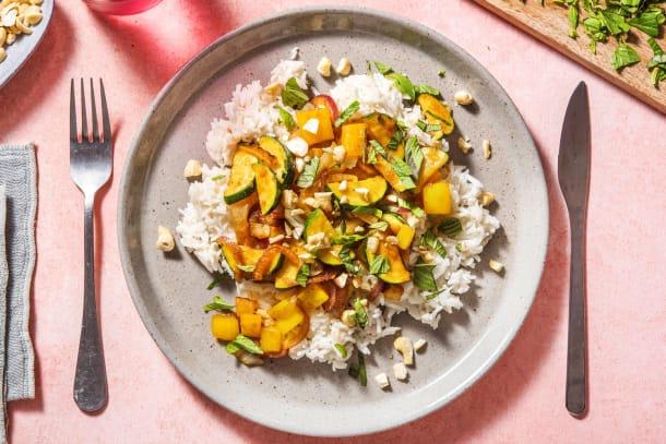 Gesunde Gerichte - Knackige Gemüsepfanne mit Fenchel